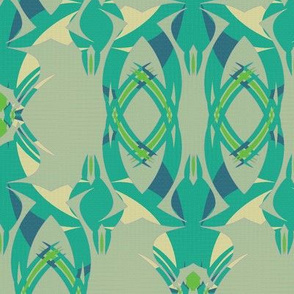 Offshore Greens (Teal)