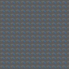 LSD Molecule Grey
