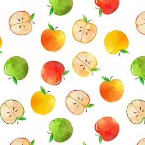 tossed apples