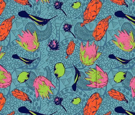Reprotea fabric by fookestoque on Spoonflower - custom fabric