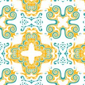 Rspanish_scrolly_tile_in_white_orange_and_aqua_rev_shop_thumb