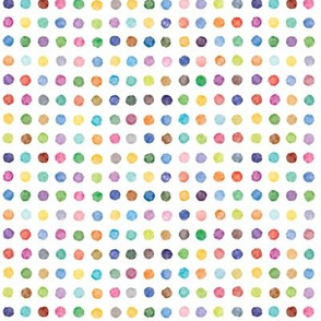 Painted dot candy, small, even