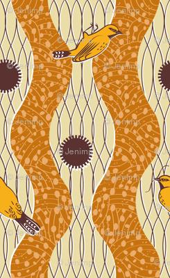Weaver Bird Wax Cloth