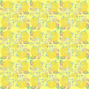 Yellow Plasma Birds