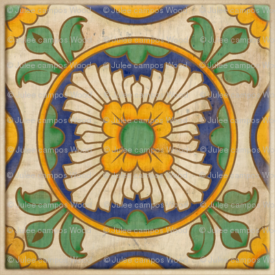 Jardín de Sol - Spanish Tile