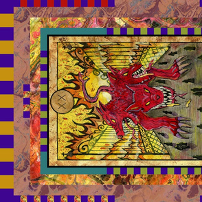 JUDGEMENT CERBERUS TAROT CARD PANEL MAJOR ARCANA