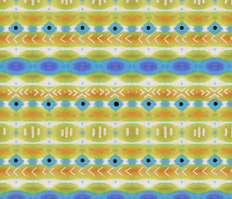 mudcloth fabric by aluse on Spoonflower - custom fabric