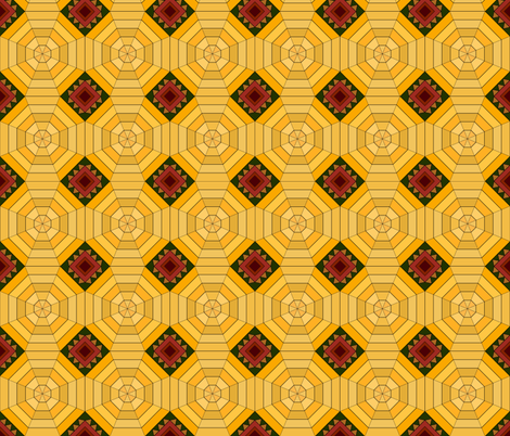 africanstyle fabric by katja_scheube on Spoonflower - custom fabric