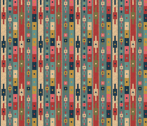 Inspiration - Africa fabric by owlandchickadee on Spoonflower - custom fabric