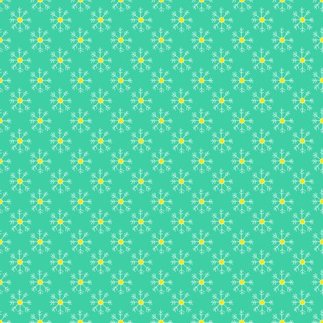 Rbright_teal_and_yellow_snowflake_repeat_shop_preview