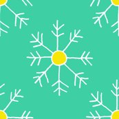Rbright_teal_and_yellow_snowflake_repeat_shop_thumb