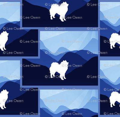 Blue Mountain Samoyed
