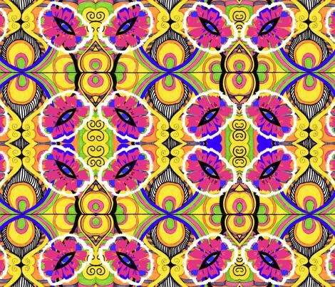 Pop That Art! fabric by mudzart on Spoonflower - custom fabric