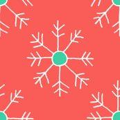 Rrorange_and_teal_snowflake_repeat_shop_thumb
