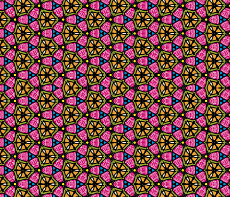 Bonds fabric by tropicalchica on Spoonflower - custom fabric