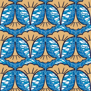 African inspired pattern
