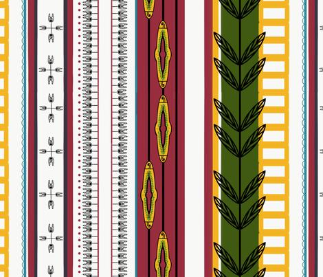 Nigerian Princess  fabric by taylynnstudios on Spoonflower - custom fabric