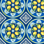 Lemon Spanish Tiles