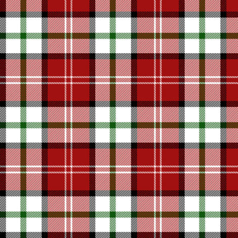"Nisbet dress tartan #1, 3"" fabric by weavingmajor on Spoonflower - custom fabric"