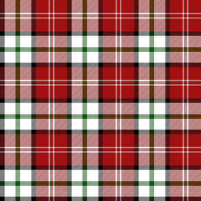 Nisbet dress tartan #1, 6""