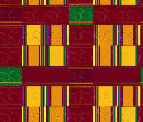 Modern Kente 2 fabric by alohajean on Spoonflower - custom fabric