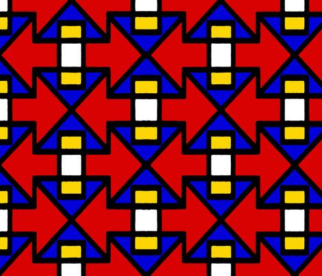 Ndebele fabric by ipek on Spoonflower - custom fabric