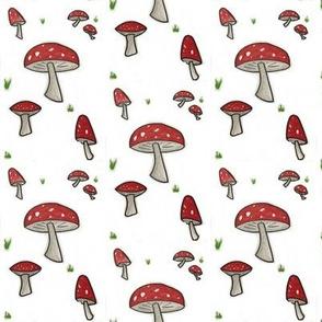 Toadstool Woodland Mushroom