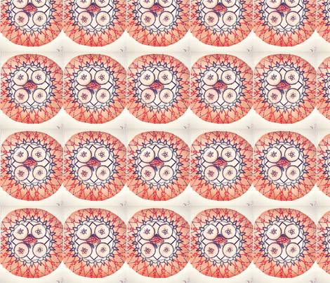 Brain Mandala fabric by the_human_collection_ on Spoonflower - custom fabric