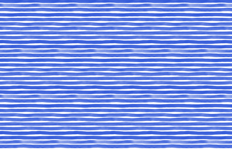 Watercolor Stripes M+M Cobalt by Friztin fabric by friztin on Spoonflower - custom fabric