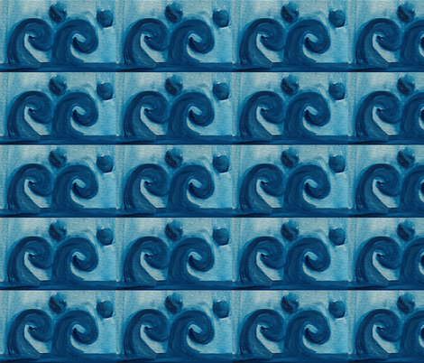 Greek Light Blue 3 fabric by meljohnno on Spoonflower - custom fabric