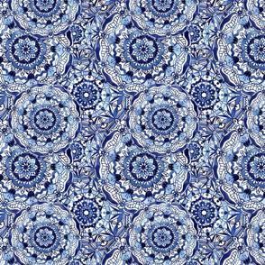Delft Blue Mandalas