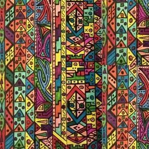 Vibrant tribal