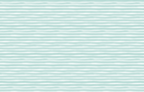 Watercolor Stripes M+M Wintermint by Friztin fabric by friztin on Spoonflower - custom fabric