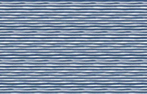 Watercolor Stripes M+M Navy Blue by Friztin fabric by friztin on Spoonflower - custom fabric