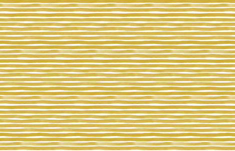 Watercolor Stripes M+M Ocher by Friztin fabric by friztin on Spoonflower - custom fabric