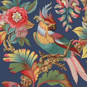 Edwardian Parrot ~ Original