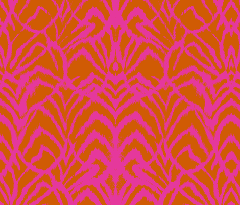 Wild Ikat Wesson fabric by ninaribena on Spoonflower - custom fabric