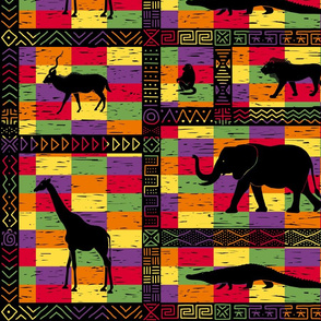 African inspired mash up - Kente