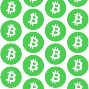 Green Bitcoin // Large