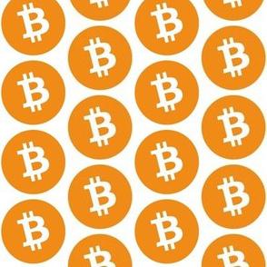 Orange Bitcoin // Large