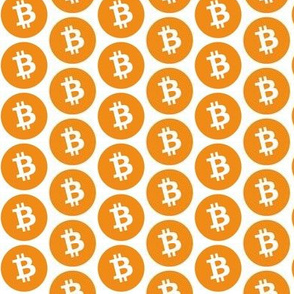 Orange Bitcoin // Small