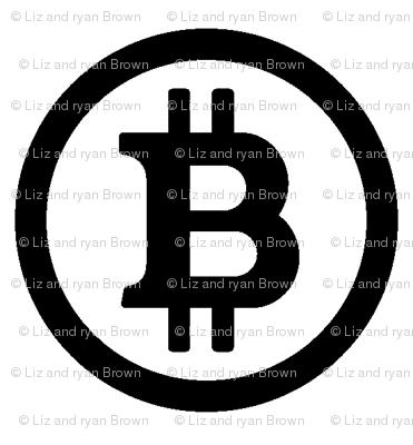 Bitcoin Symbol // Small