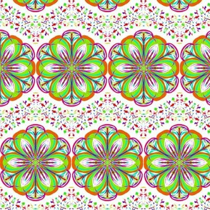 Greening the Daisies on Speckled Chevron Waves
