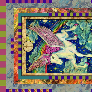 EIGHT OF SWORDS PEGASUS TAROT CARD PANEL minor arcana