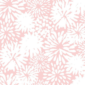 Rose Pink Zinnias