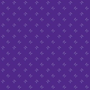 pi diamonds in royal purple