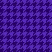 "1"" houndstooth - royal purple"