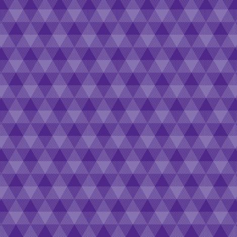 "royal purple triangle gingham, 1"" fabric by weavingmajor on Spoonflower - custom fabric"