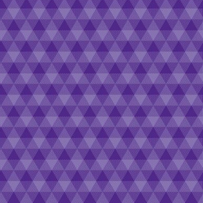 royal purple triangle gingham, 1""
