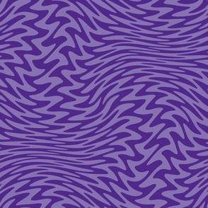 Royal purple zigzag wave